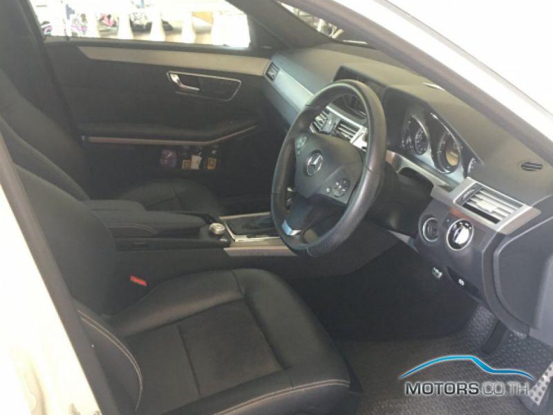 รถมือสอง, รถยนต์มือสอง MERCEDES-BENZ E200 (2012)