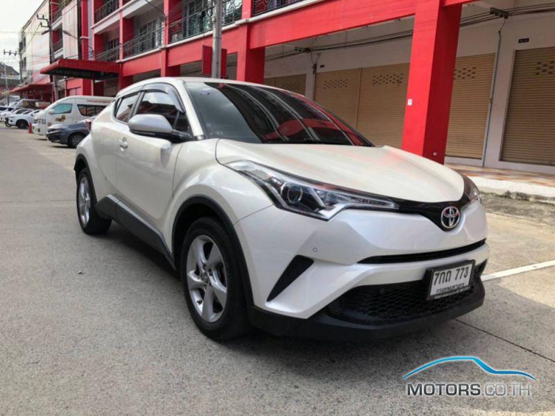 รถมือสอง, รถยนต์มือสอง TOYOTA C-HR (2018)