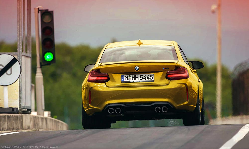 BMW M2 Coupe Facelift 2018
