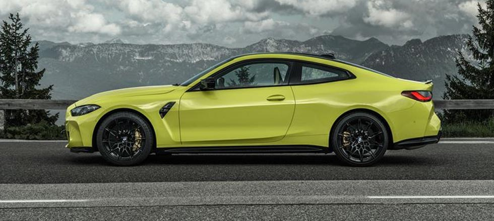 New BMW M4 Coupe Competition 2021
