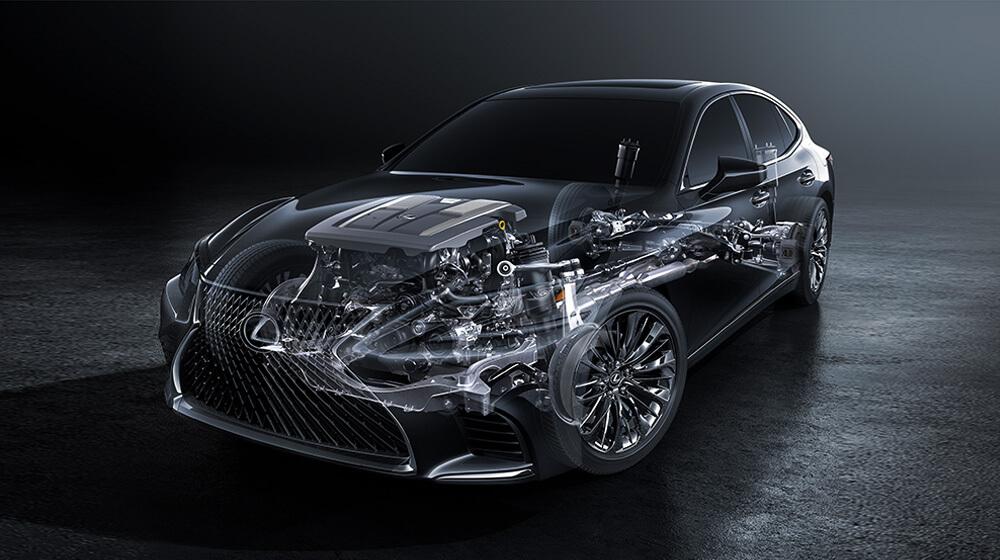 New Lexus LS 2018
