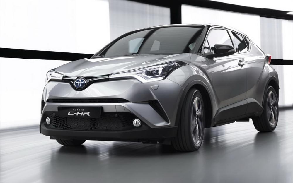 Toyota C-HR ใหม่ 2018