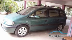 Secondhand CHEVROLET ZAFIRA (2002)