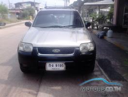 รถใหม่, รถมือสอง FORD ESCAPE (2004)