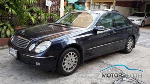 รถมือสอง, รถยนต์มือสอง MERCEDES-BENZ E CLASS (2003)