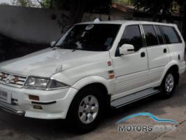 รถใหม่, รถมือสอง SSANGYONG MUSSO (1998)