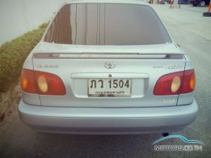 New, Used & Secondhand Cars TOYOTA COROLLA (2001)