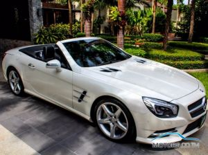 Secondhand MERCEDES-BENZ SL CLASS (2013)