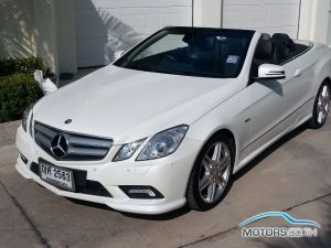 Secondhand MERCEDES-BENZ E250 CGI BLUEEFFICIENCY AMG (2011)