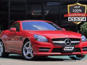 Secondhand MERCEDES-BENZ SLK200 KOMPRESSOR AMG (2015)