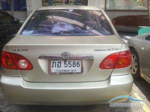 รถมือสอง, รถยนต์มือสอง TOYOTA COROLLA (2001)