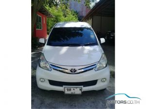 Secondhand TOYOTA AVANZA (2012)