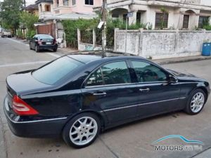 Secondhand MERCEDES-BENZ C200 KOMPRESSOR (2003)